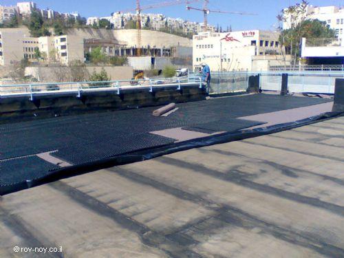 הקמת גג ירוק